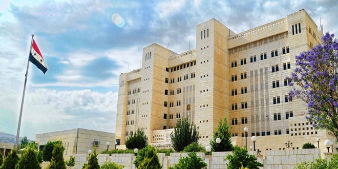 Foreign Ministry: All that noise and untrue news about use of chemical weapons in Lattakia countryside will not affect Syria's stance in war against terrorism