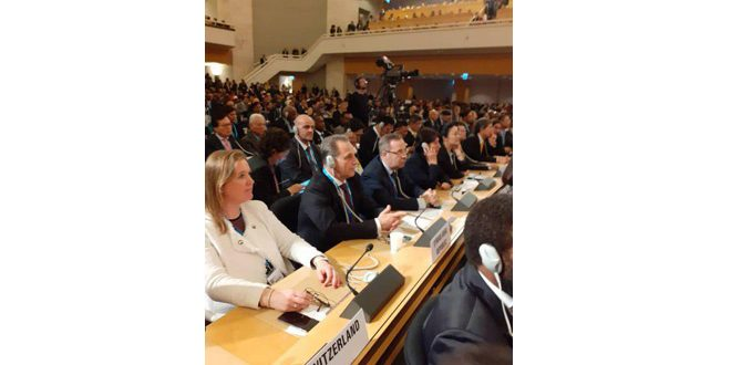 Syria participates in 72nd World Health Assembly