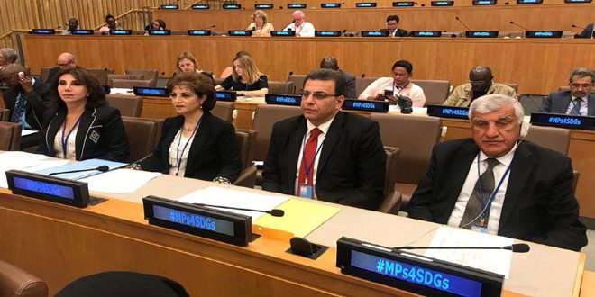 Syrian delegation participates in Parliamentary Forum in New York