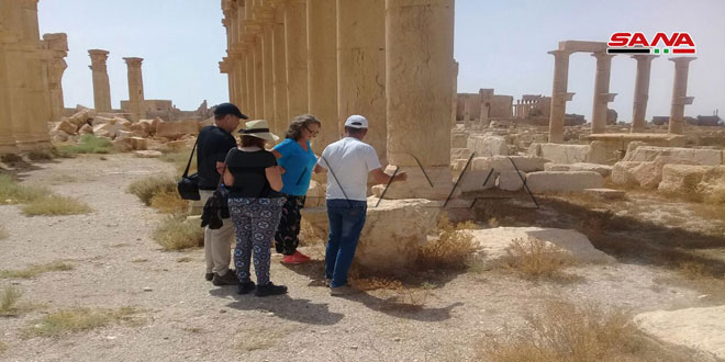 European tourists: Terrorism has sought to obliterate great civilizational heritage of Palmyra