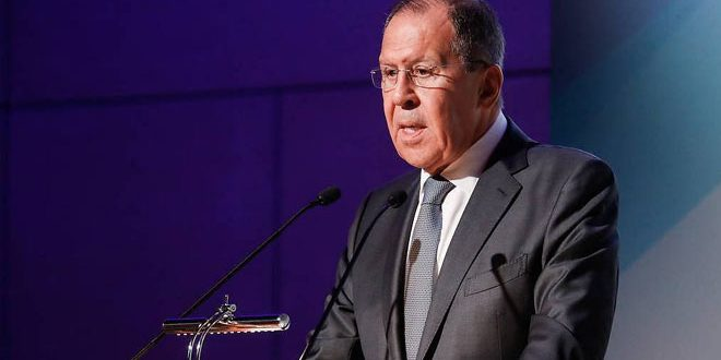 Lavrov: Need for finding a political solution to crisis in Syria according to UN resolution 2254