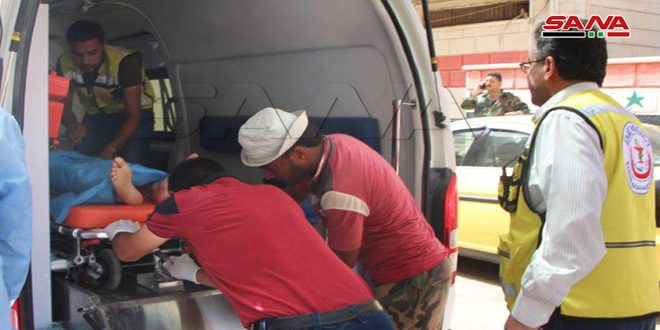 A number of martyrs in a terrorist attack against a military car in Daraa