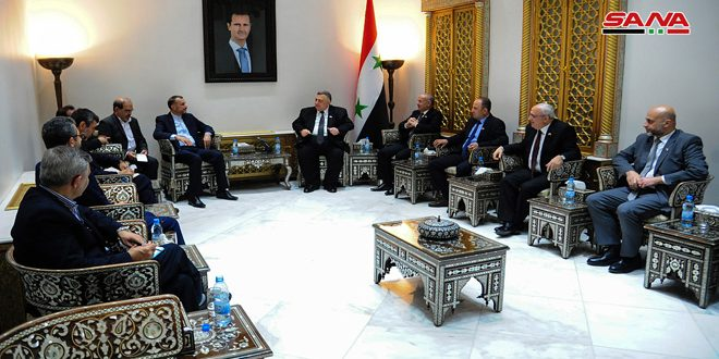 Sabbagh, Abdollahian discuss enhancing Syrian-Iranian parliamentary relations