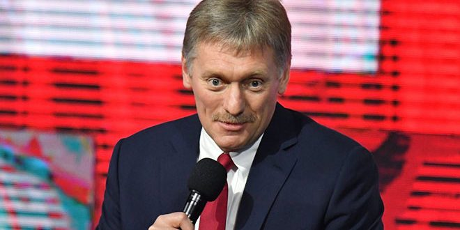 Peskov: Putin,  Macron discussed the political solution to crisis in Syria