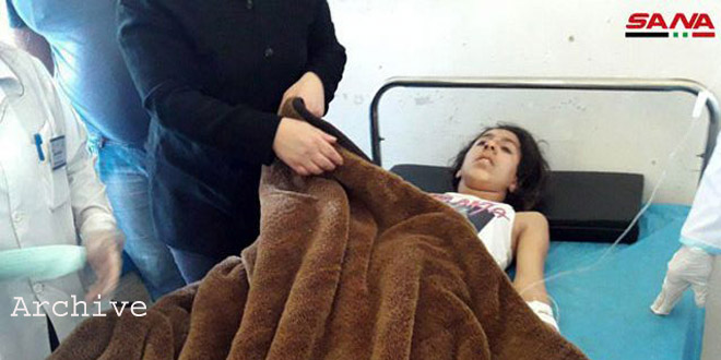 A woman martyred, another injured in a terrorist rocket attack in Hama countryside