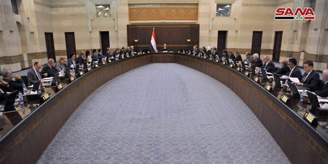Cabinet allocates SYP 2 billion for services projects in Hama and Damascus Countryside