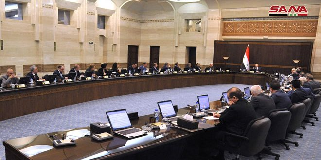 Cabinet reviews preparations for 61st Damascus International Fair