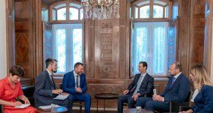 President al-Assad to Greek Kathimerini newspaper: Syria is