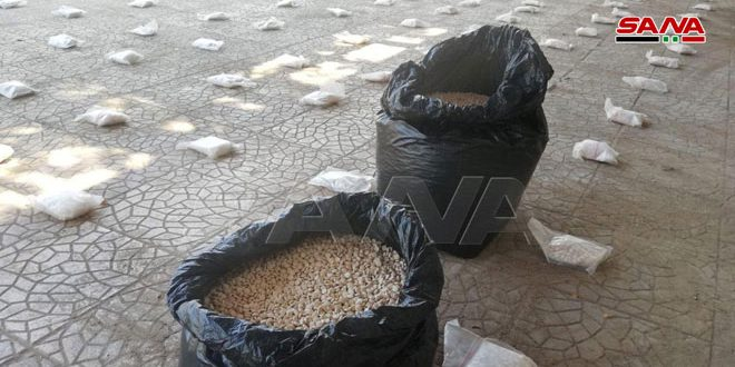 Over 400.000 pills of Captagon seized in Damascus countryside
