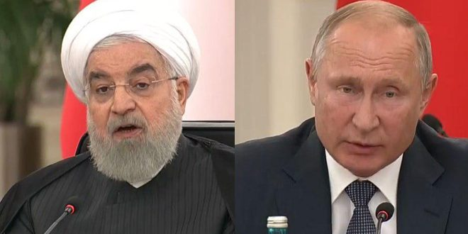 Rouhani, Putin: Need for preserving Syria's sovereignty and territorial integrity