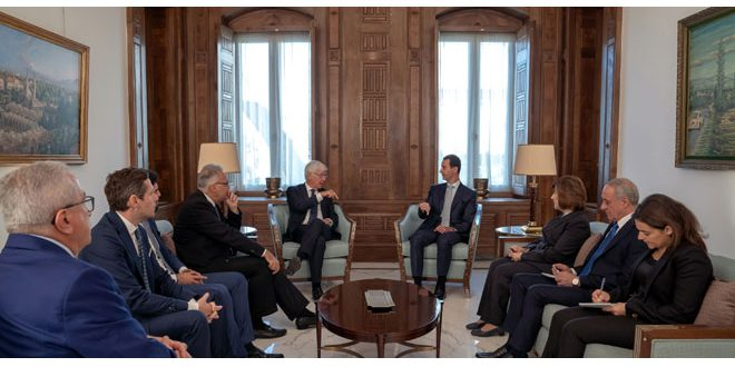 President al-Assad: Position of most European countries about events in Syria was detached from reality since the beginning