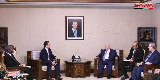 Al-Moallem to Krähenbühl: Syria is continuous to provide support to UNRAW