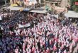 Citizens of al-Mayadin salute the army, condemn the Turkish aggression on Syrian lands