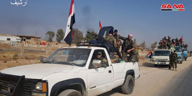 The army enters news villages in Hasaka countryside