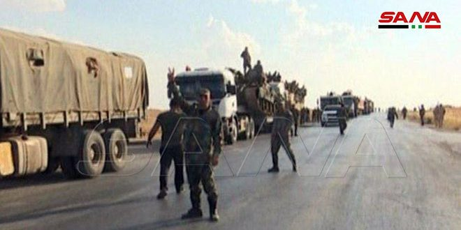 Army uits continue deployment operations in Syrian al-Jazeera area