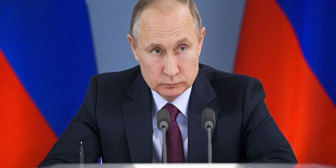 Putin calls for respecting Syria's sovereignty and territorial integrity