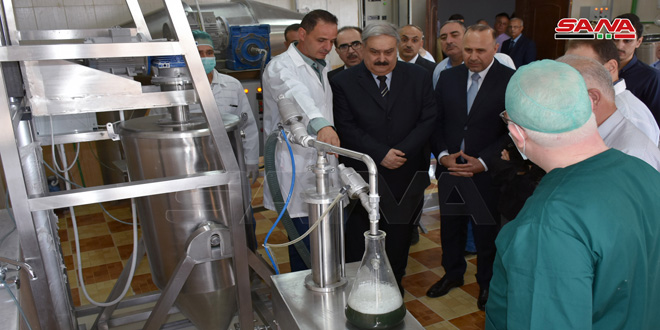 Biopesticide plant in Hama put into service
