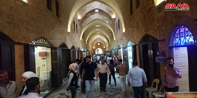 Centuries-old al-Saqatiyah souk re-opens, announcing return of former way of life