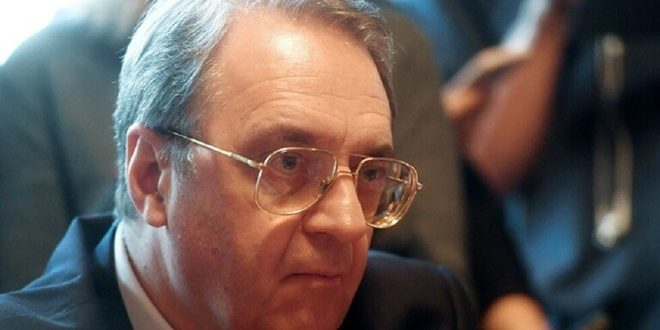 Bogdanov renews commitment to Syria's sovereignty and territorial integrity