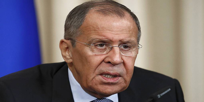 Lavrov renews need for respecting Syria's sovereignty and territorial integrity