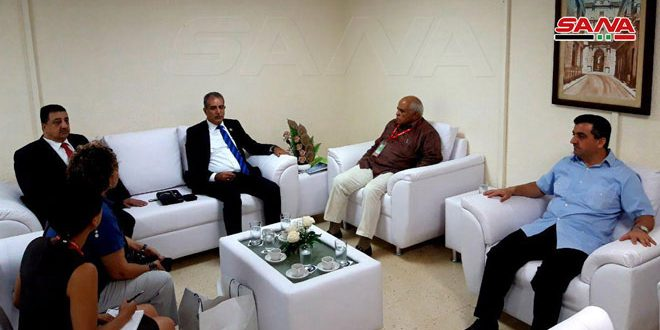 Syria, Cuba discuss enhancing economic relations