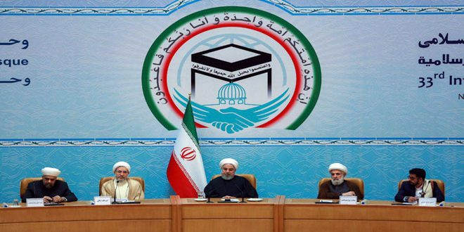 Rouhani: U.S. goal behind deploying forces in Syria has never been combating terrorism at all