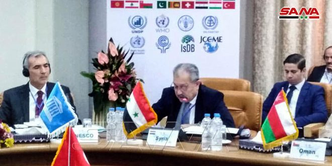 Syria participates in Meeting of RCUWM Board of Governors , Tehran