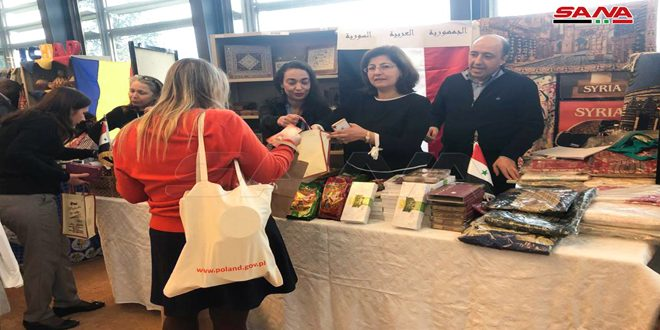 Syria participates in annual charity bazaar in Geneva