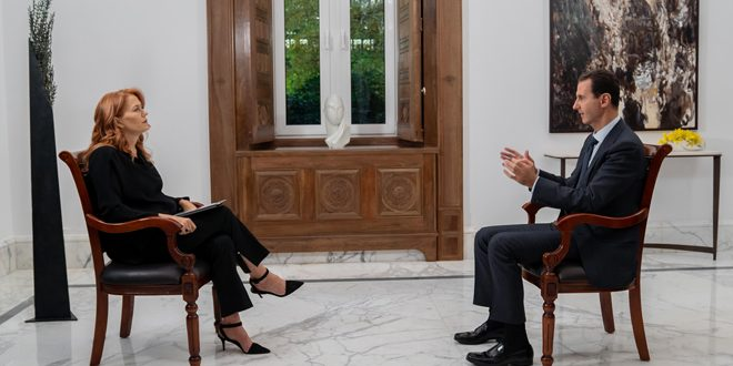 The interview that Italian Rai News 24 refrained from broadcasting...President al-Assad: Europe was the main player in creating chaos in Syria-video