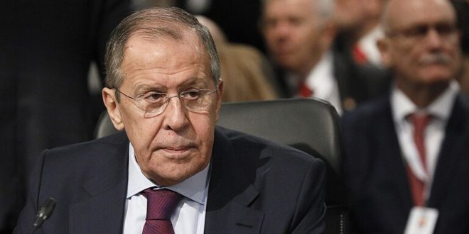 Lavrov: The need to eliminate terrorism in Idleb and settle crisis in Syria