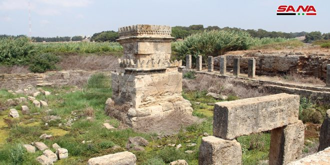 New archaeological discoveries found in Amrit and Safita in Tartous