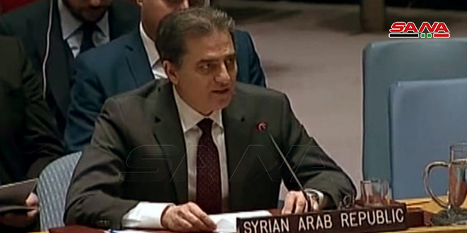 Fallouh: Syria fights terrorism on its land until liberating every span of it