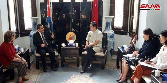 Chinese Ambassador in Cuba: We support Syria in its war against terrorism
