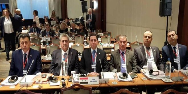 Syria participates in the 14th plenary session of PAM
