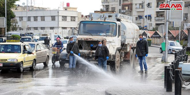Cleaning and disinfection campaigns continue throughout the country, photos