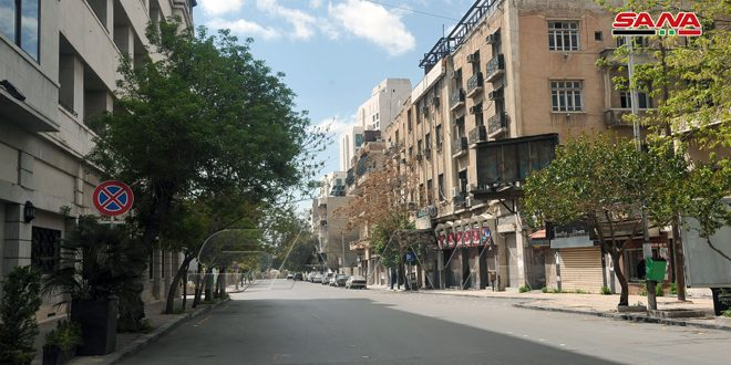 Curfew in all Syrian provinces on Friday and Saturday from 12 p.m. until 6.00 a.m. comes into effect