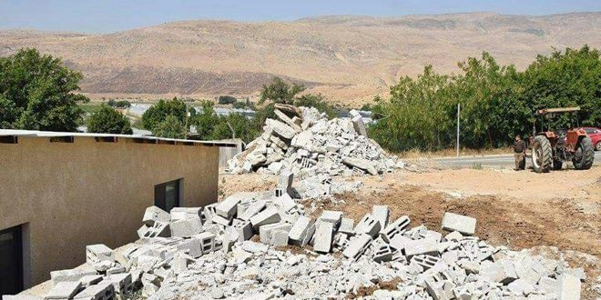 "Palestinians: ""Israel"" demolishes our homes, but it will not destroy our determination"