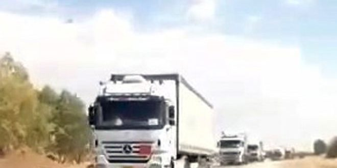 US occupation brings in more military and logistic reinforcement to Hasaka countryside