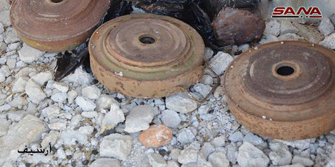 Two children killed in a landmine blast east of Palmyra