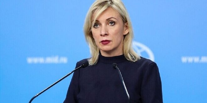 Zakharova: Illegal extraction of Syrian oil is a looting and aggression on Syria's sovereignty