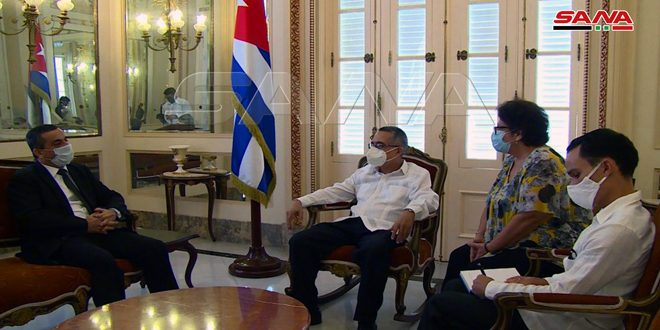 Deputy Foreign Minister of Cuba: Syria an example of steadfastness and will overcome all challenges
