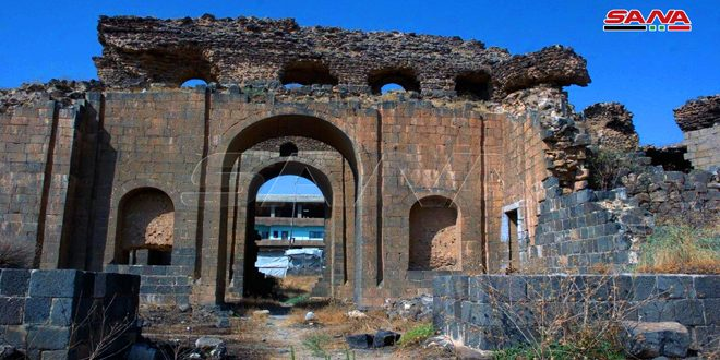 Shahba bathhouses narrate history of thousands of years