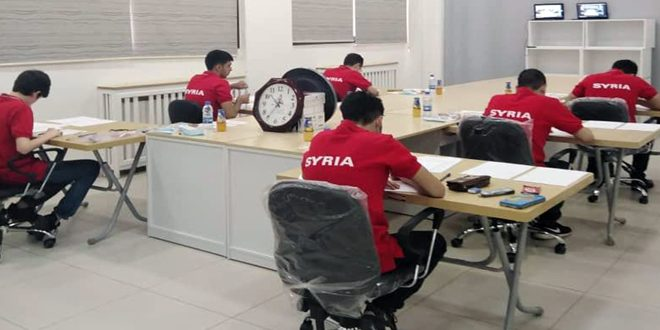 Students of Syrian Scientific Olympiad  participate  in the International Mathematics Olympiad organized by Russia remotely