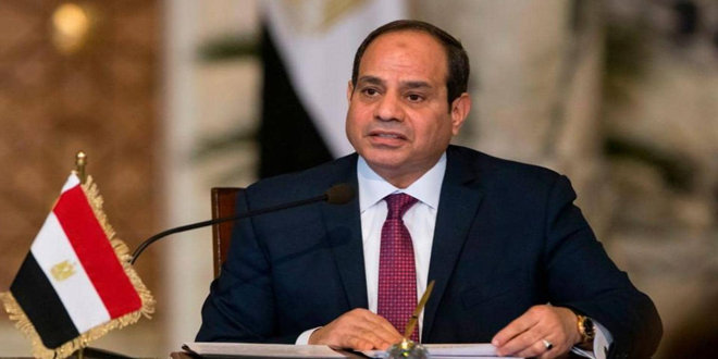Al-Sisi: Necessity of moving political solution to crisis in Syria forward to preserve its unity, safety and eliminate terrorism