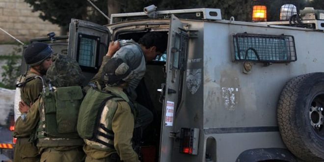 Update- Israeli occupation forces arrest 11 Palestinians in the West Bank