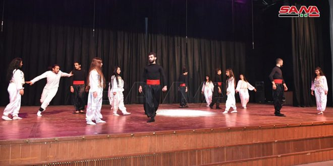 Al-Maghout Theater Festival kicks off at Dar al-Assad for Culture and Arts in Hama
