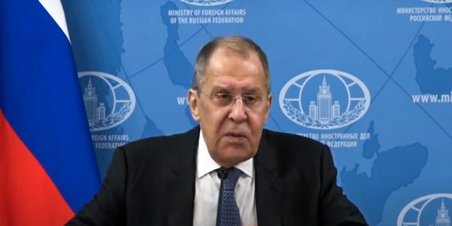 Lavrov: What US does in Syria violates resolution 2254 which stipulates for commitment to Syria's sovereignty