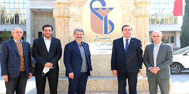 Syria, Iran discuss cooperation in health sector