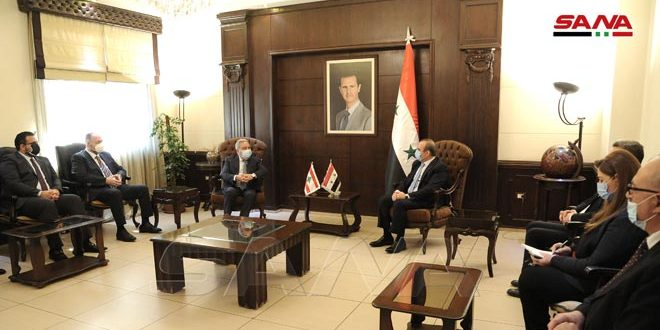 Syria, Lebanon discuss means of cooperation on the return of Syrian refugees to homeland