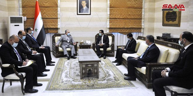 Prime Minister discusses with Ambassador of Pakistan means of enhancing bilateral relations
